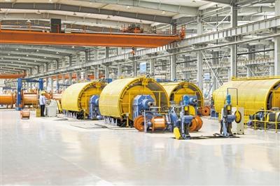 宝胜线缆公司数字化工厂设备与系统集成